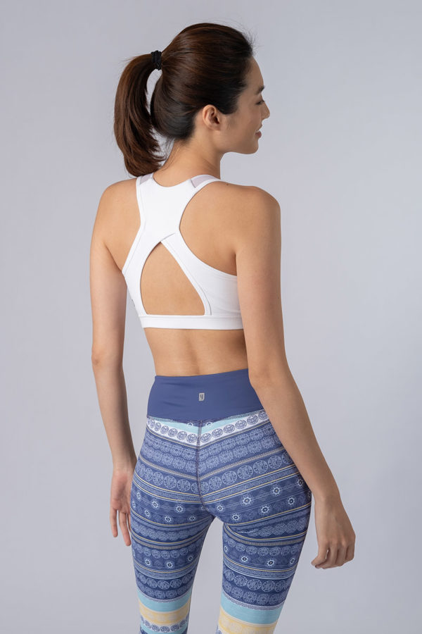 Sleek Racer Sports Bra